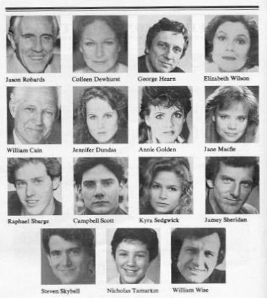 Cast of O'Neill Plays