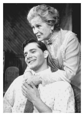 Campbell Scott and Colleen Dewhurst